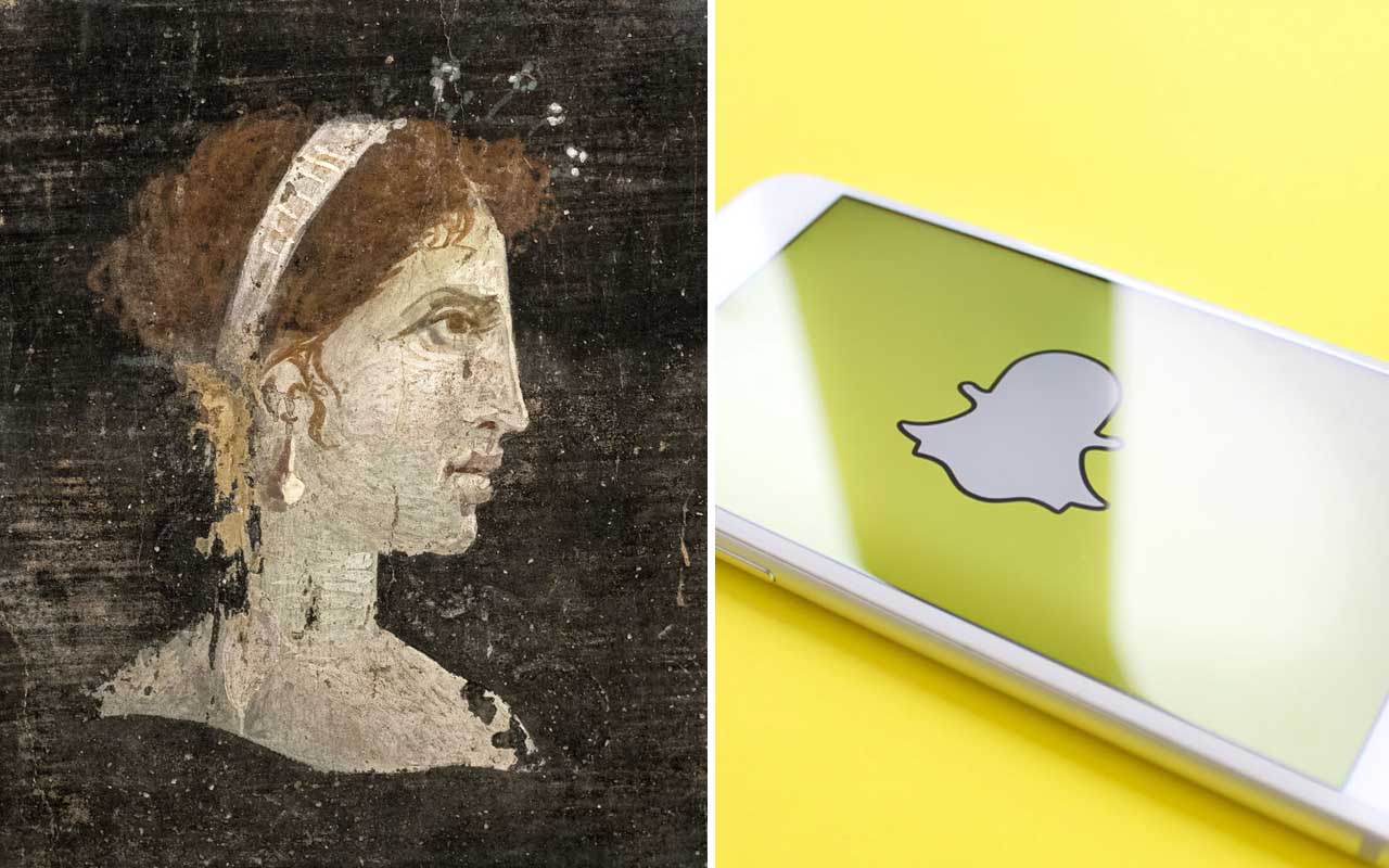 Cleopatra, Snapchat, app, life, facts, time
