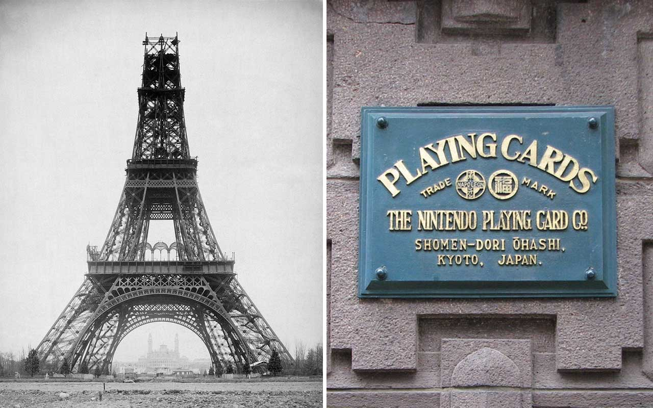 Eiffel Tower, Nintendo, history, time, facts