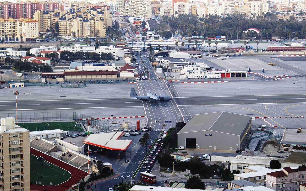 Gibraltar International Airport, Gibraltar, travel, airports, adventure, road, life