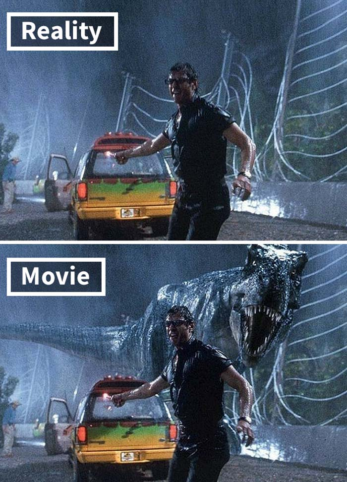 Jurassic Park, movie, facts, life, people, special effects