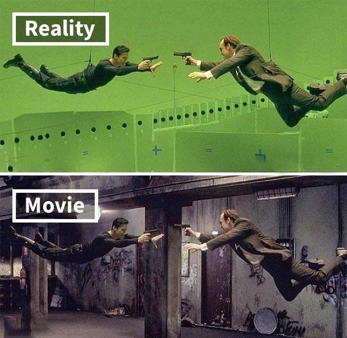 The Matrix, movie, special effects, facts, life, people, CGI