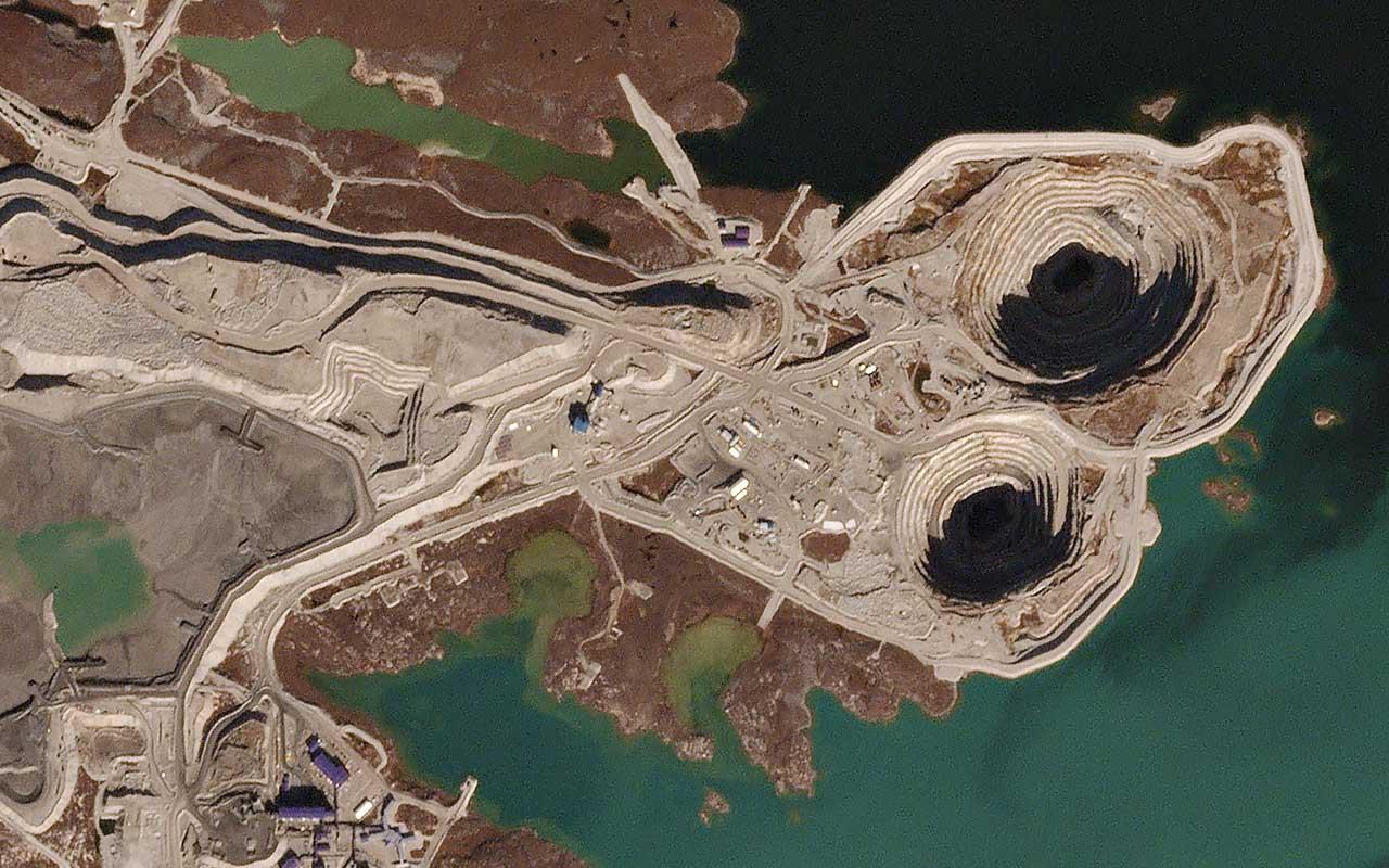 Diavik Diamond Mine, Canada, life, facts, islands, Earth