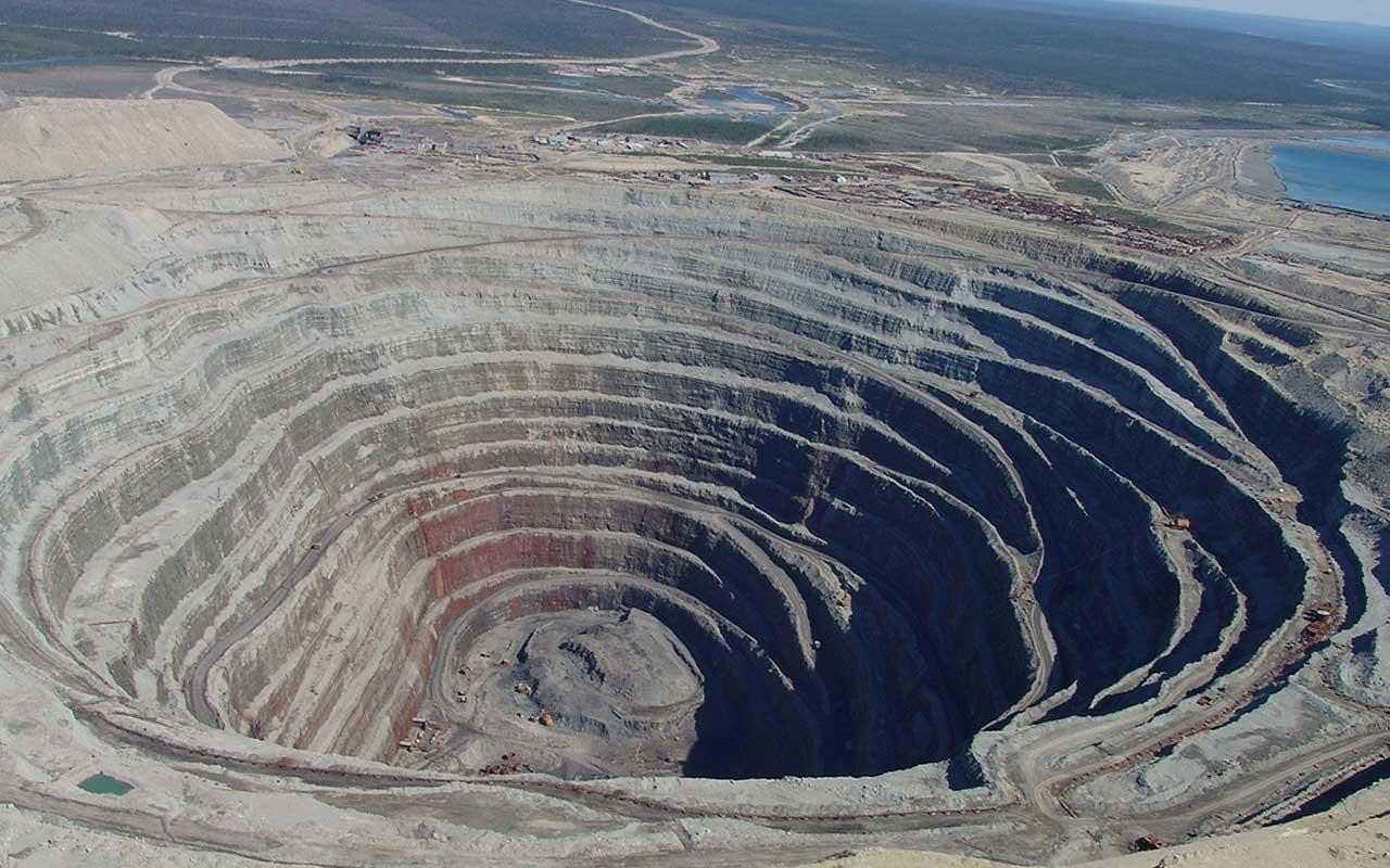 Diavik Diamond Mine, islands, facts, people, world, Earth