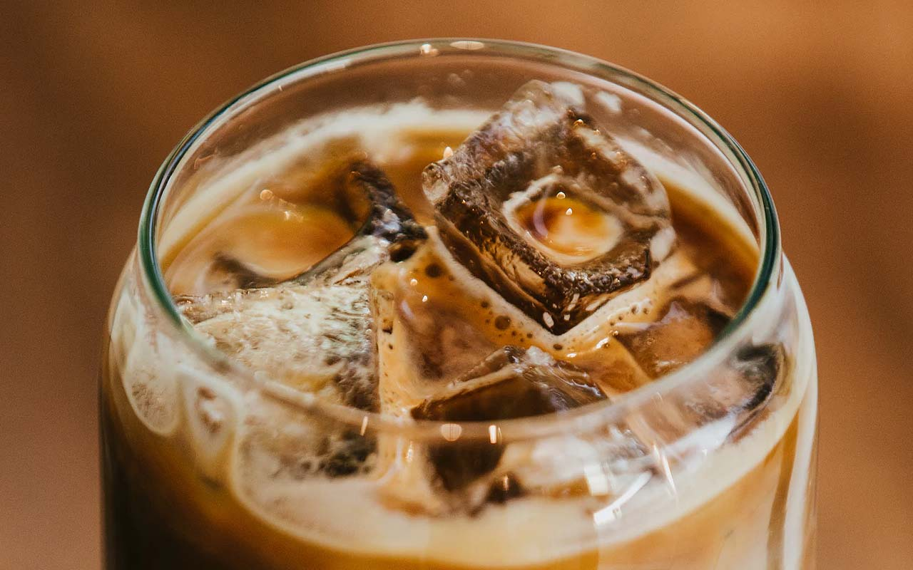 coffee, cold, drinking, food, facts, ice cubes