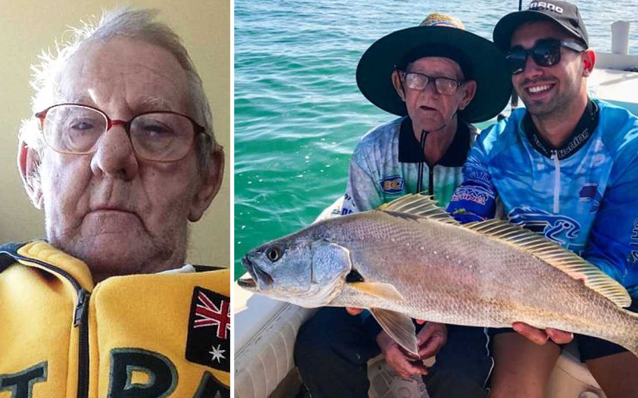smile, stories, positive, facts, Ray Johnstone, people, fishing, ad, love, widower