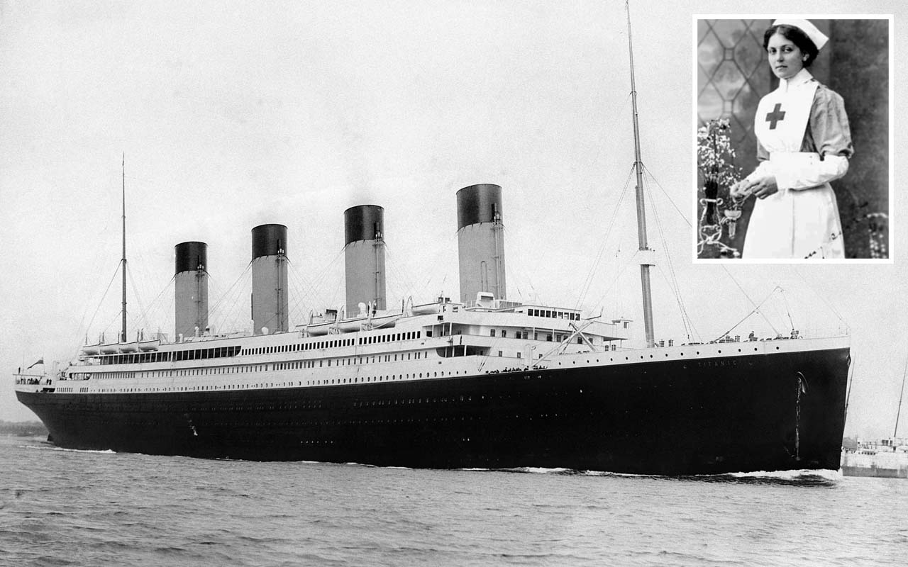 Violet Jessop, Titanic, RMS, life, facts, history, people, unluckiest