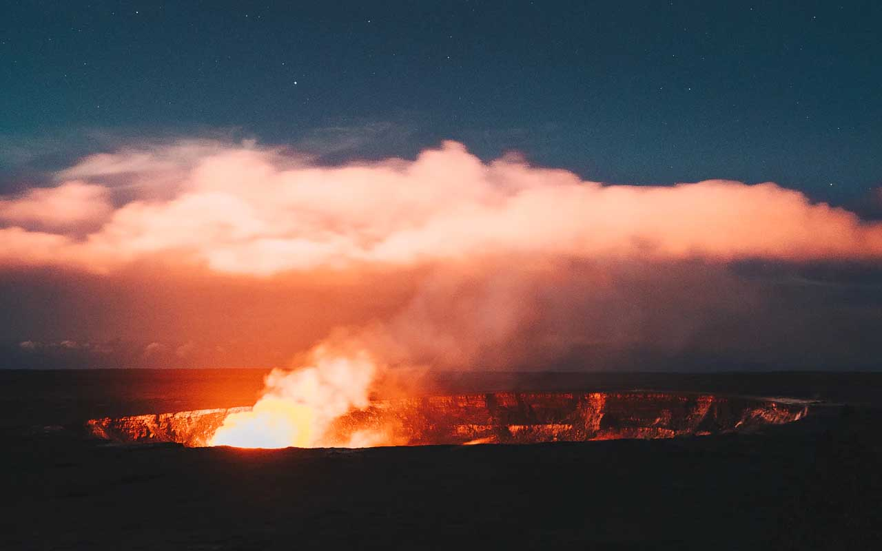 Kilauea Volcano, Hawaii, volcanoes, dangerous, destinations, facts, life, travel