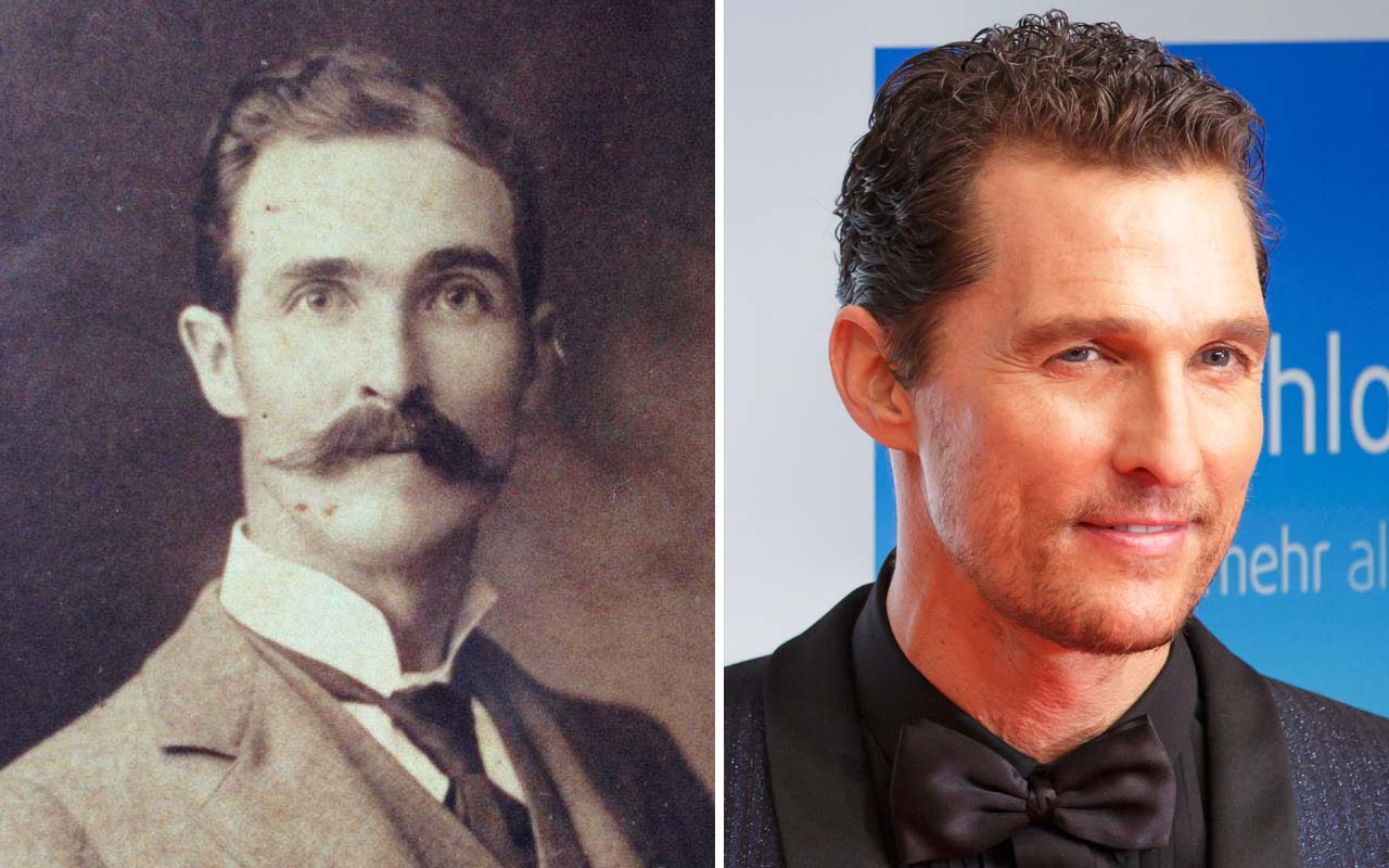 Matthew McConaughey, great grandfather, facts, history, time travel, life
