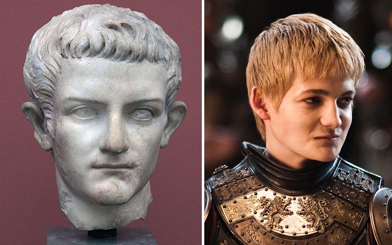 Joffrey Baratheon, Caligula, facts, celebrities, HBO, Game of Thrones, time travel