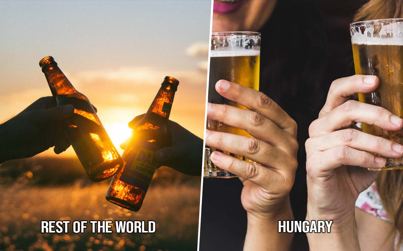 Hungary, drinking, clink, facts, traditions, life, travel
