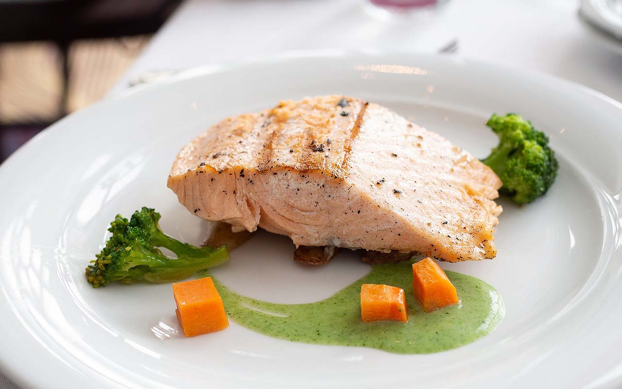 salmon, fish, grocery store, foods, facts, Earth, ocean