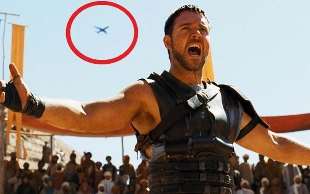 Gladiator, movies, facts, life, mistakes, people