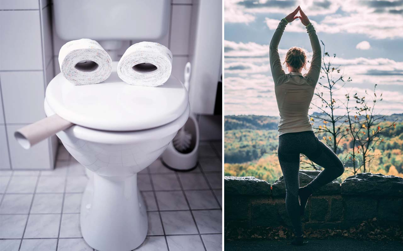 toilet, exercise, facts, people, surprising, life