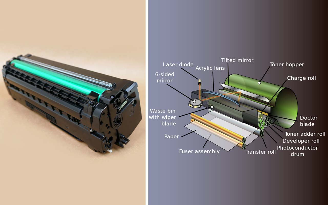 Laser printer toner, working, science, facts, life, common, knowledge, profession