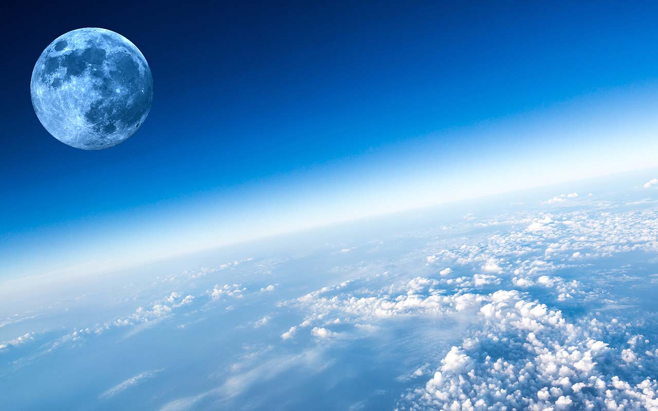 moon, Earth, planet, facts, blue, science, NASA, space
