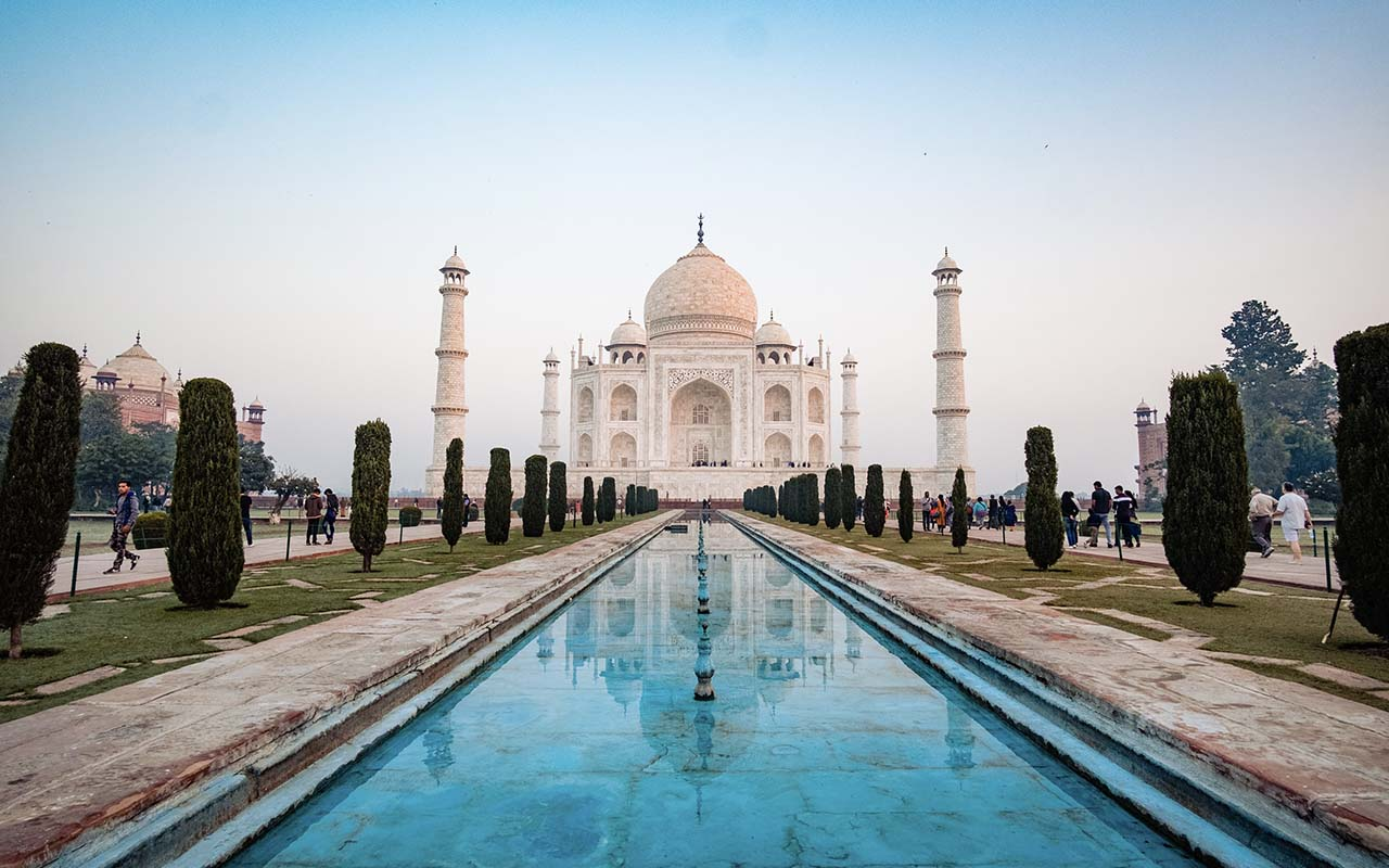 Tourist, places, travel, India, Taj Mahal, wonders, beautiful, adventure