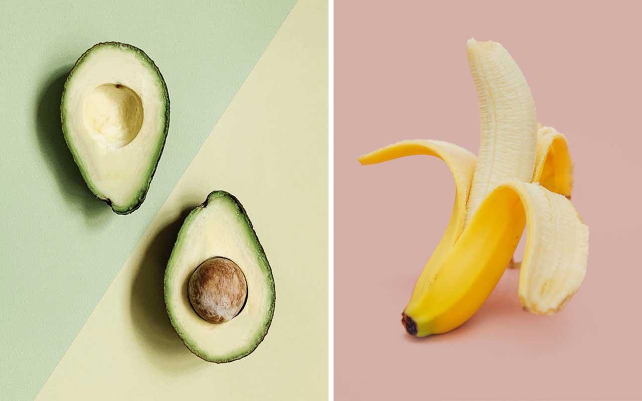 Banana, avocado, foods, everyday, facts, life, nature