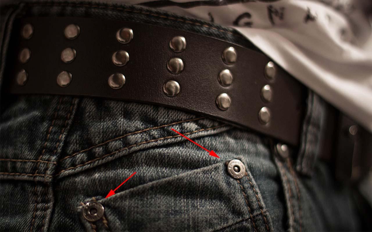 jeans, Denim, rivets, hidden, features, science, inventions, survival, facts