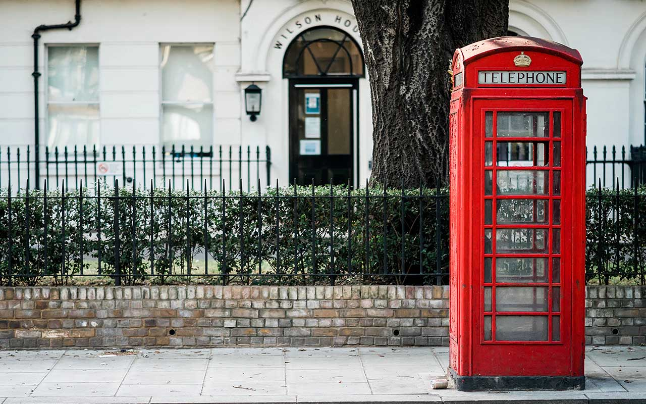 telephone, London, fog, life, facts, people, time, travel