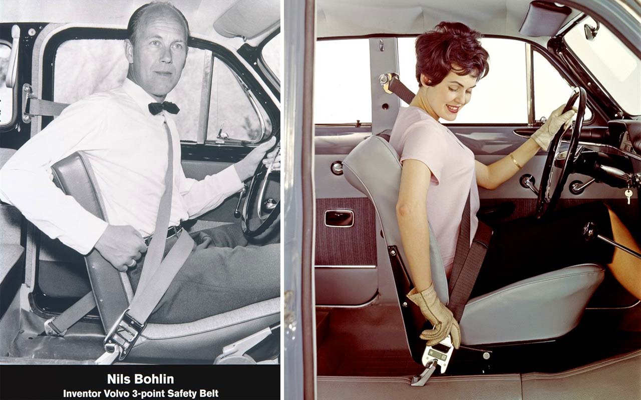 Volvo, car, seatbelt, facts, science, history, people, driving