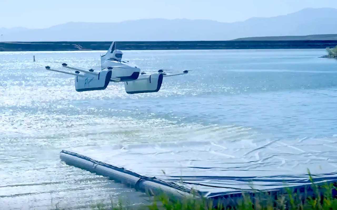 Kitty Hawk, ocean, flying, drone, facts, technology, science