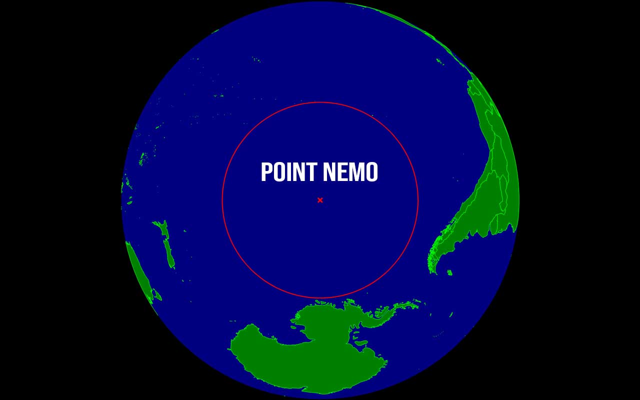 Point Nemo, Atlantic Ocean, oceans, facts, nature, Earth, life