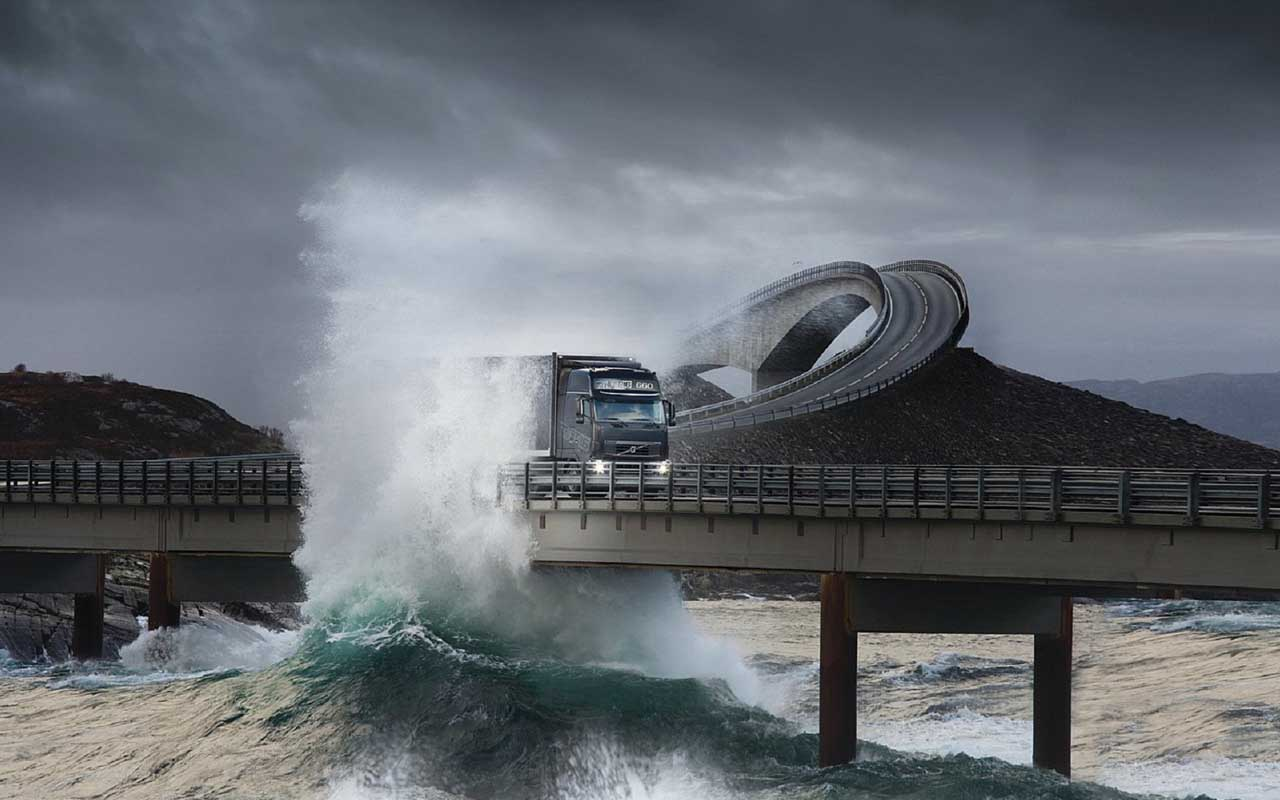 road, travel, facts, people, life, Atlantic road, Norway, ocean