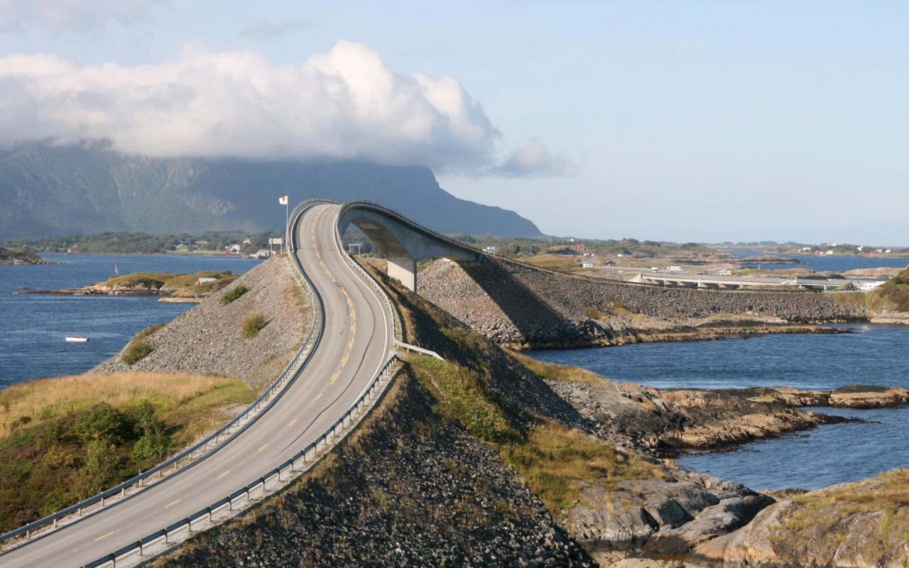Atlantic road, Norway, travel, wanderlust, facts, people, culture