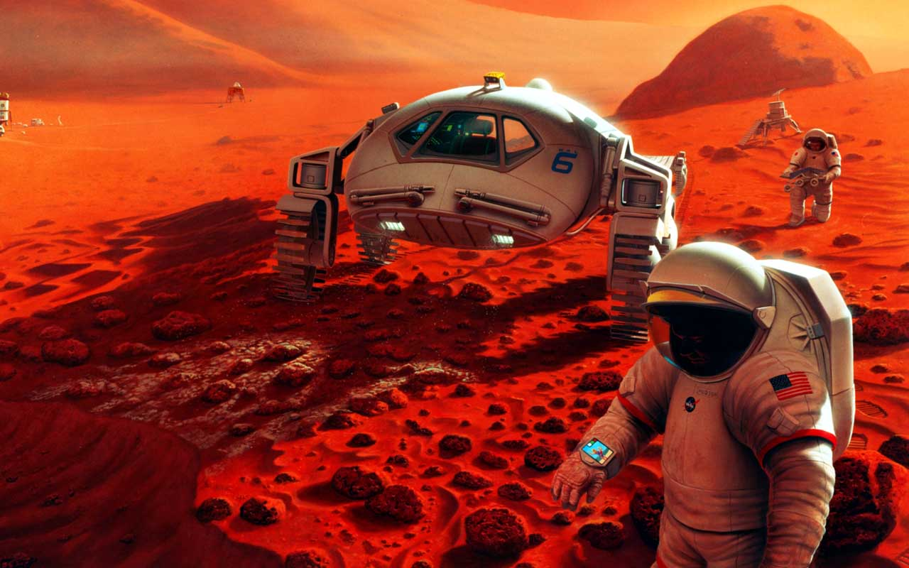 Mars, planet, colonizing, facts, science, world, interesting things