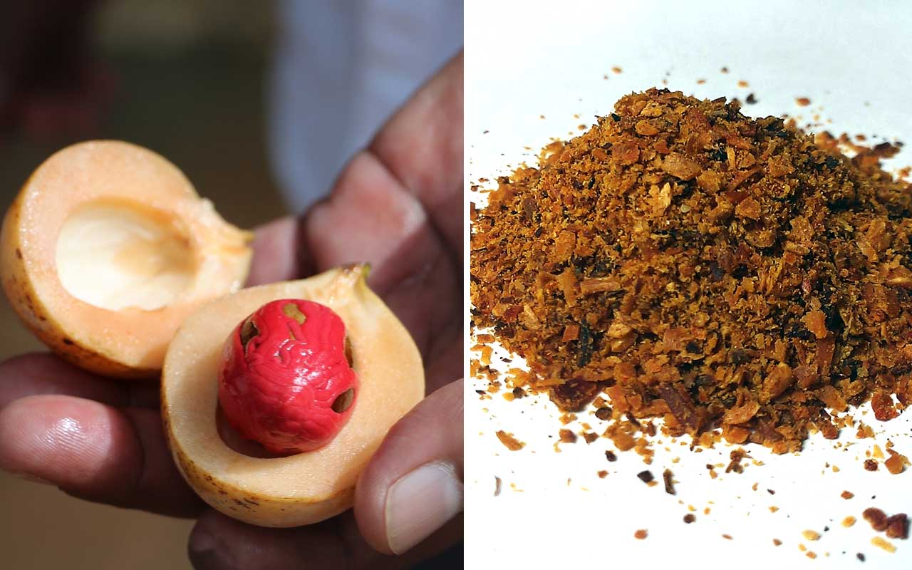 nutmeg, food, facts, cooking, kitchen, grocery store