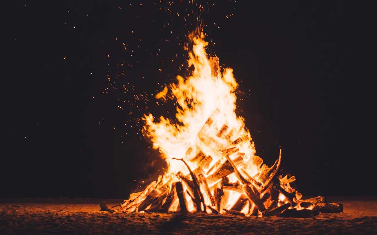 fire, crackling, people, life, engineering