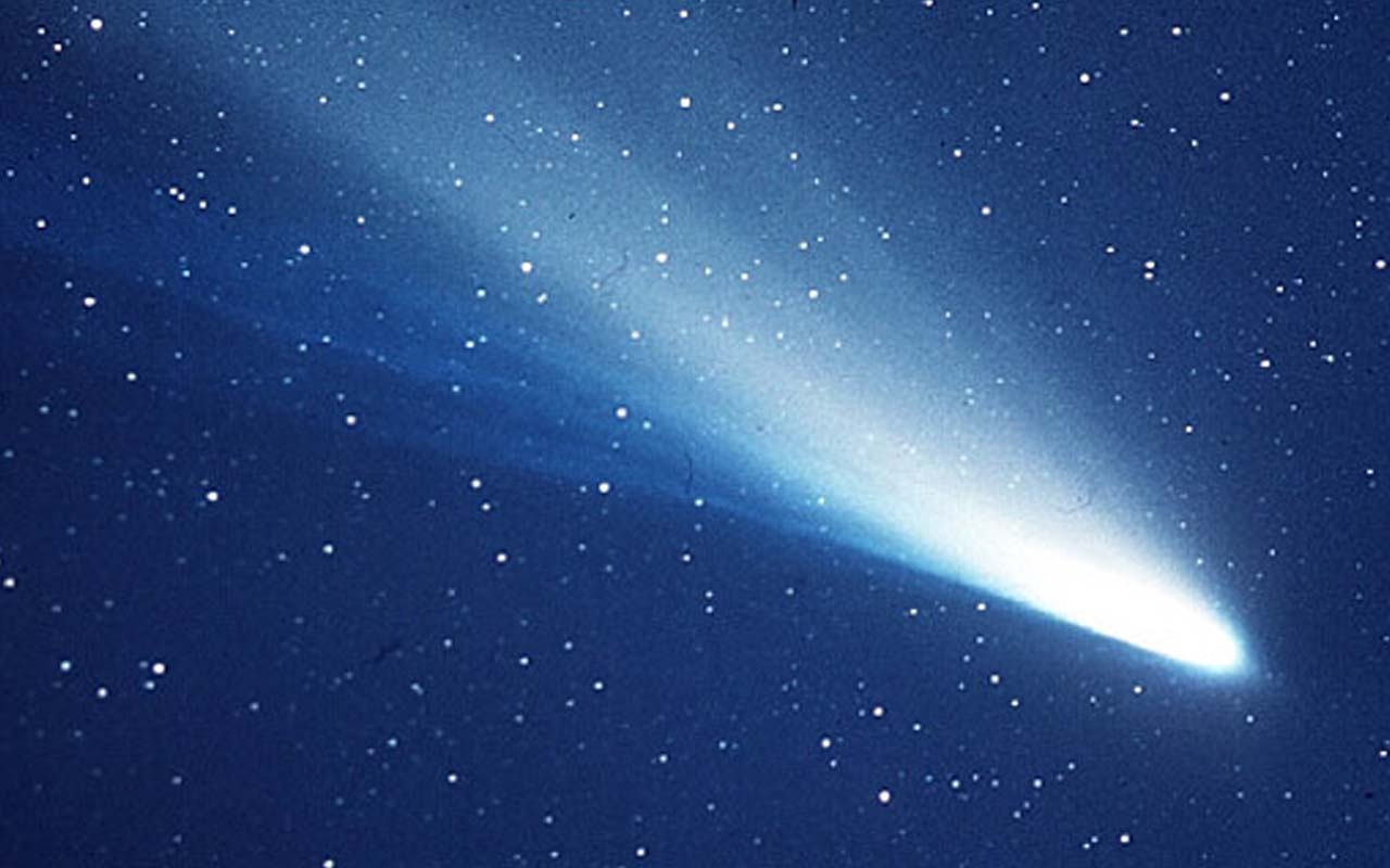 Halley's comet, facts, comet, universe, travel, facts