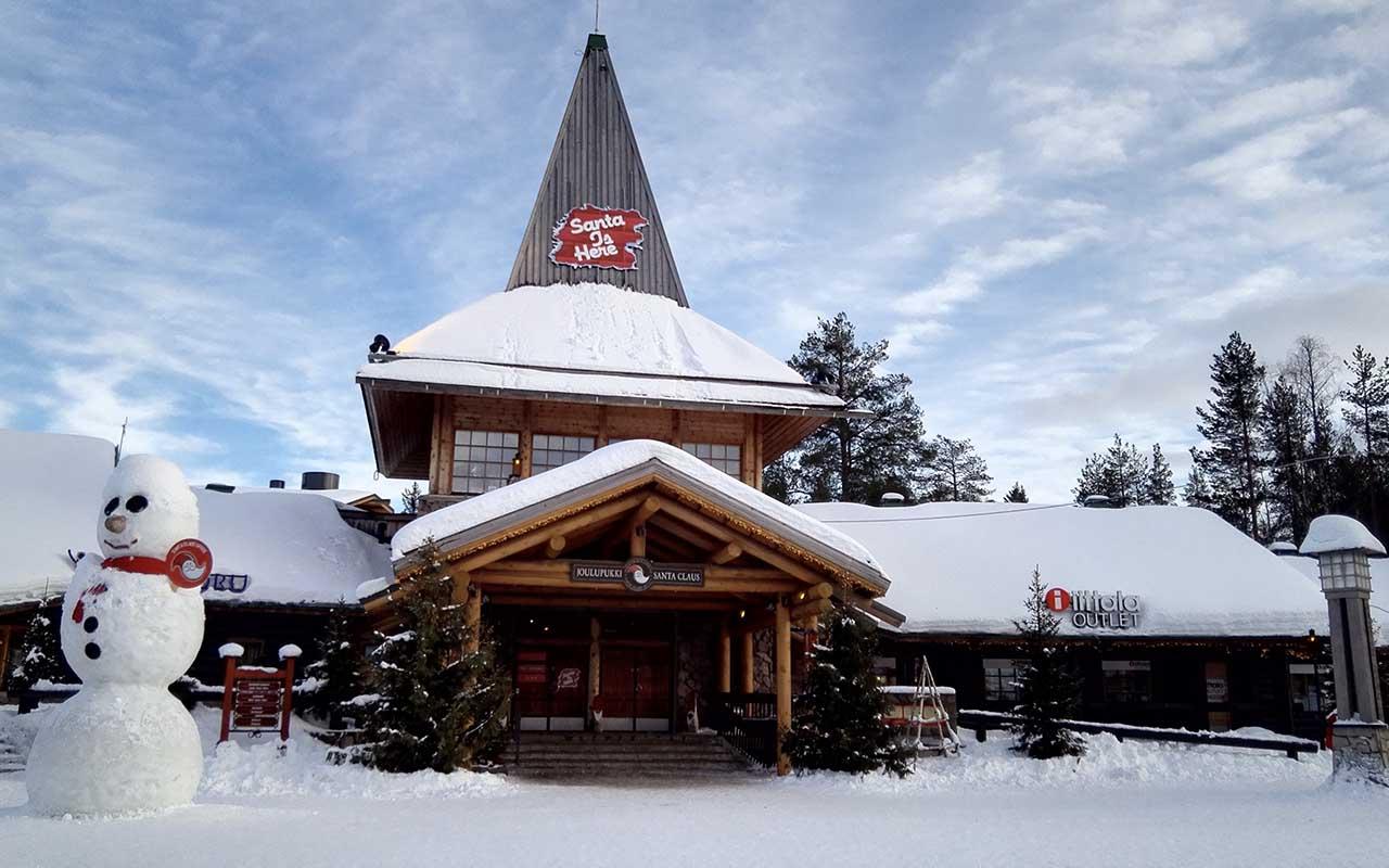Joulupukki, Santa Claus, village, Finland, facts, Winter, Christmas