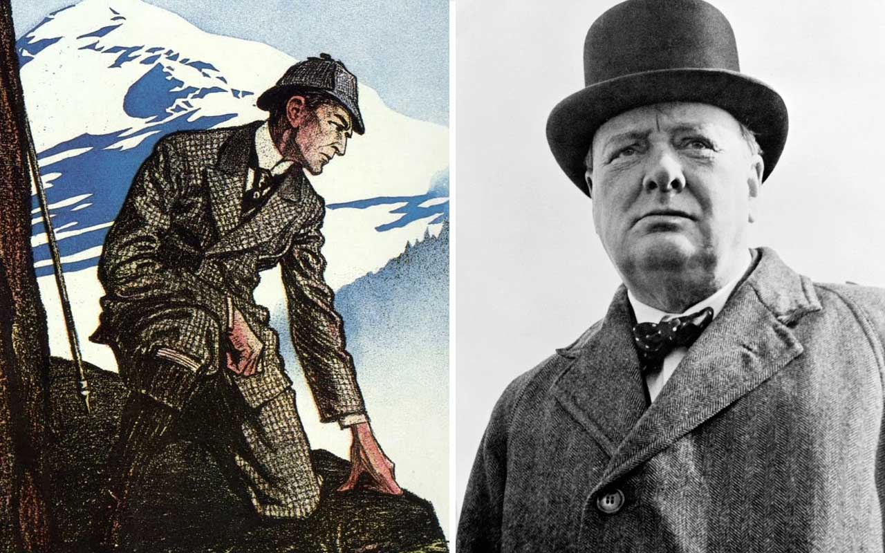 Sherlock Holmes, Winston Churchill, Britain, facts, teenagers, facts, myth