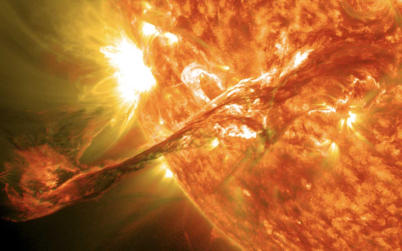 solar flare, sun, facts, life, universe, Earth, space, exploration, ponder