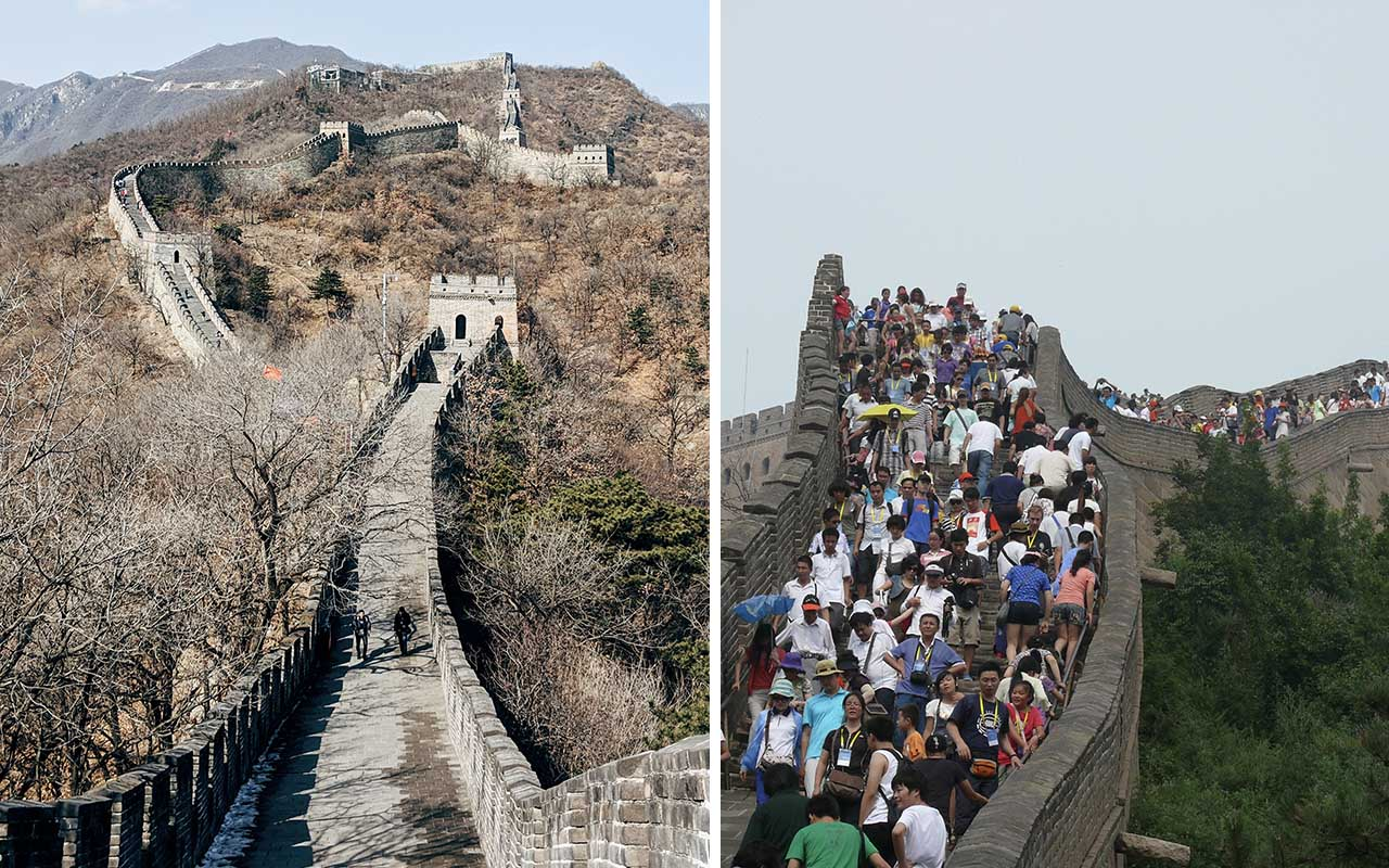 Great Wall of China, adventure, travel, life, facts, people, busy