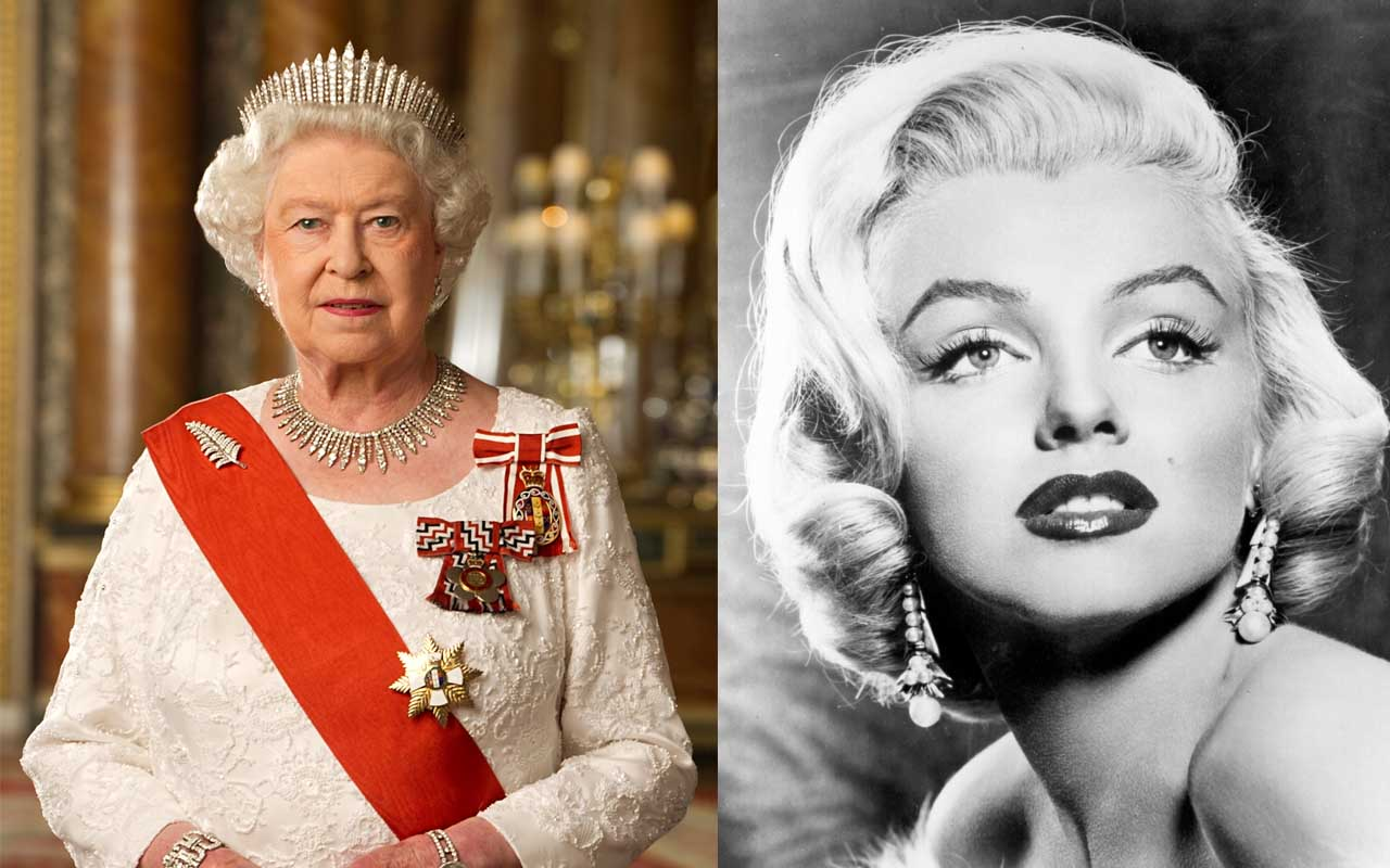 Queen Elizabeth II and Marilyn Monroe, facts, celebrities, Royal family, facts, history, life