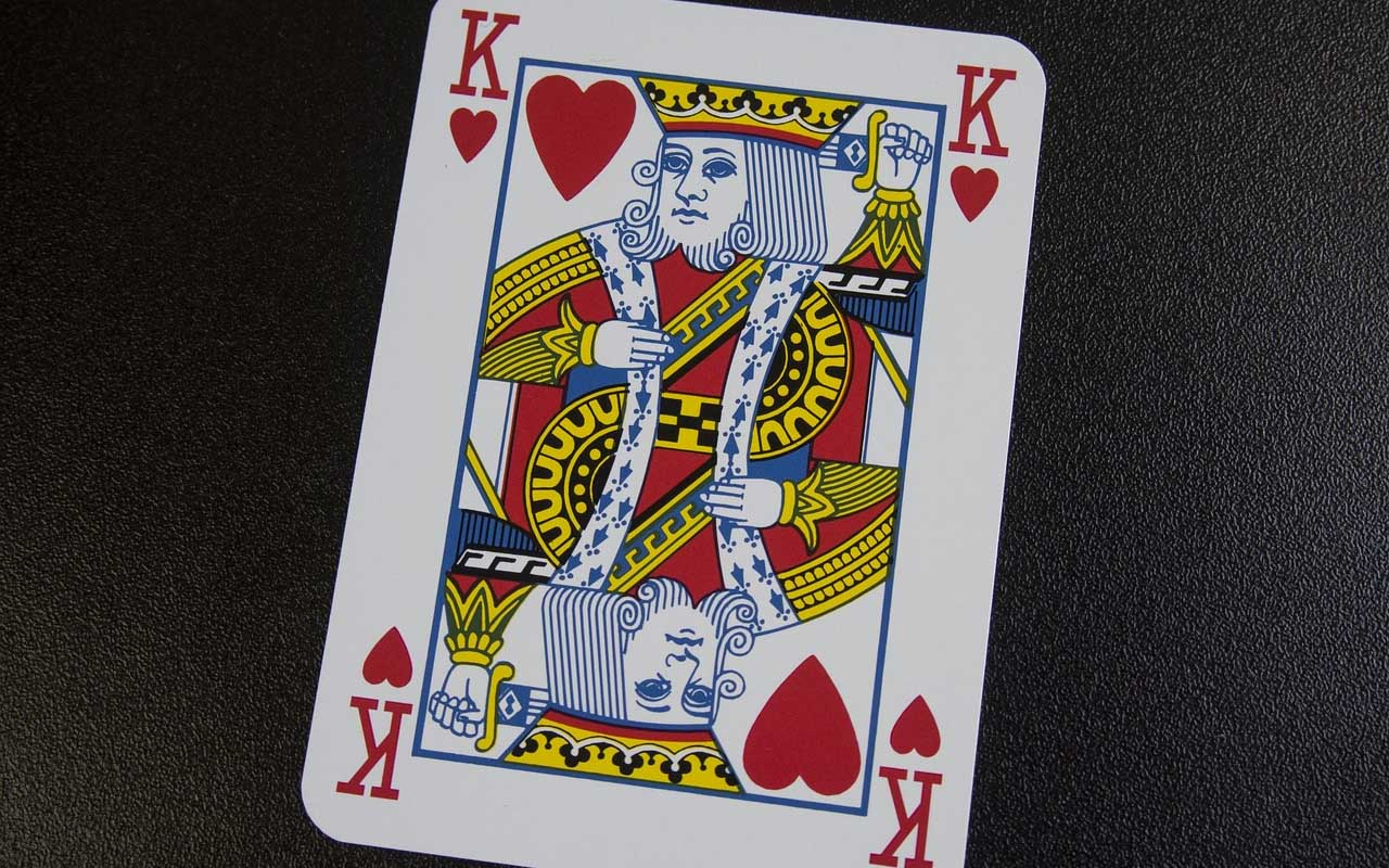 King of Hearts, cards, deck, facts, universe, mustache, life, useless facts