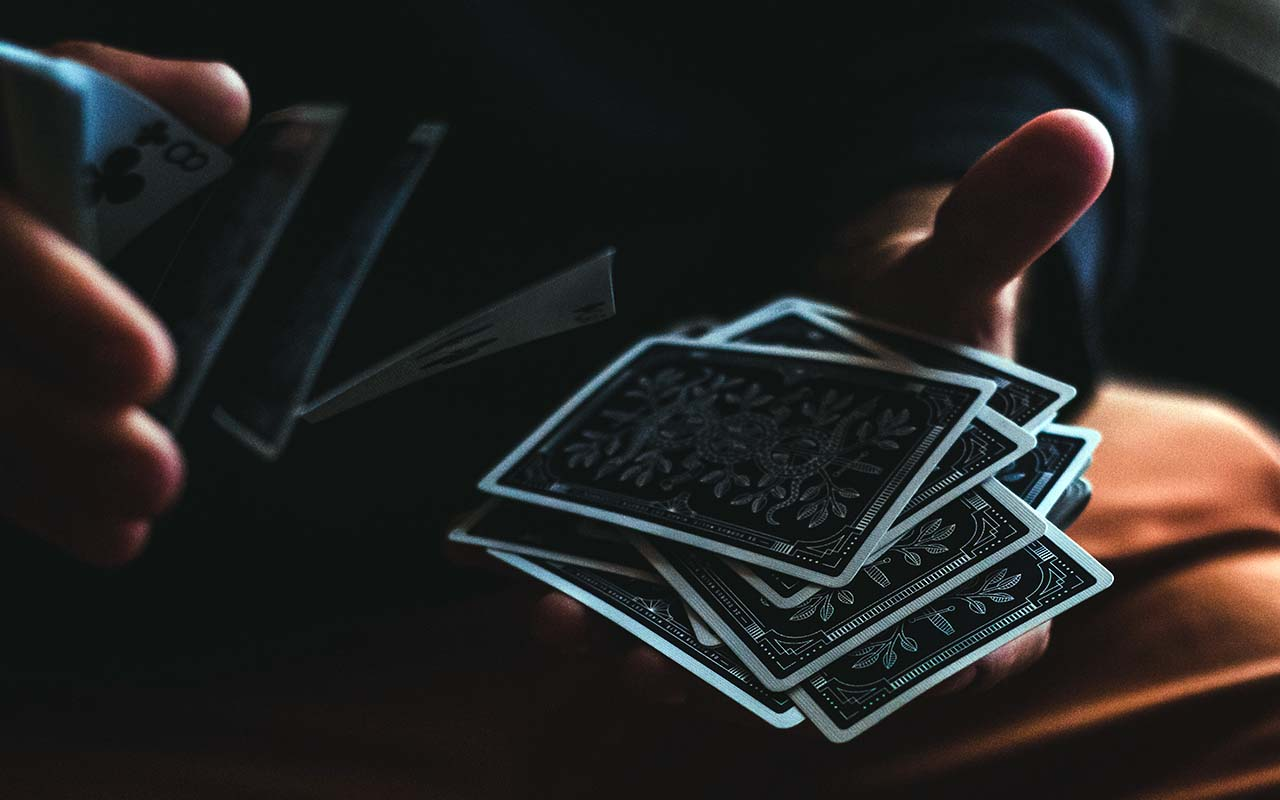 cards, shuffle, facts, atoms, life, people, science