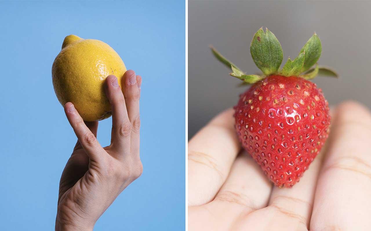 lemons, strawberry, sugar, absurd, facts, people, life, foods
