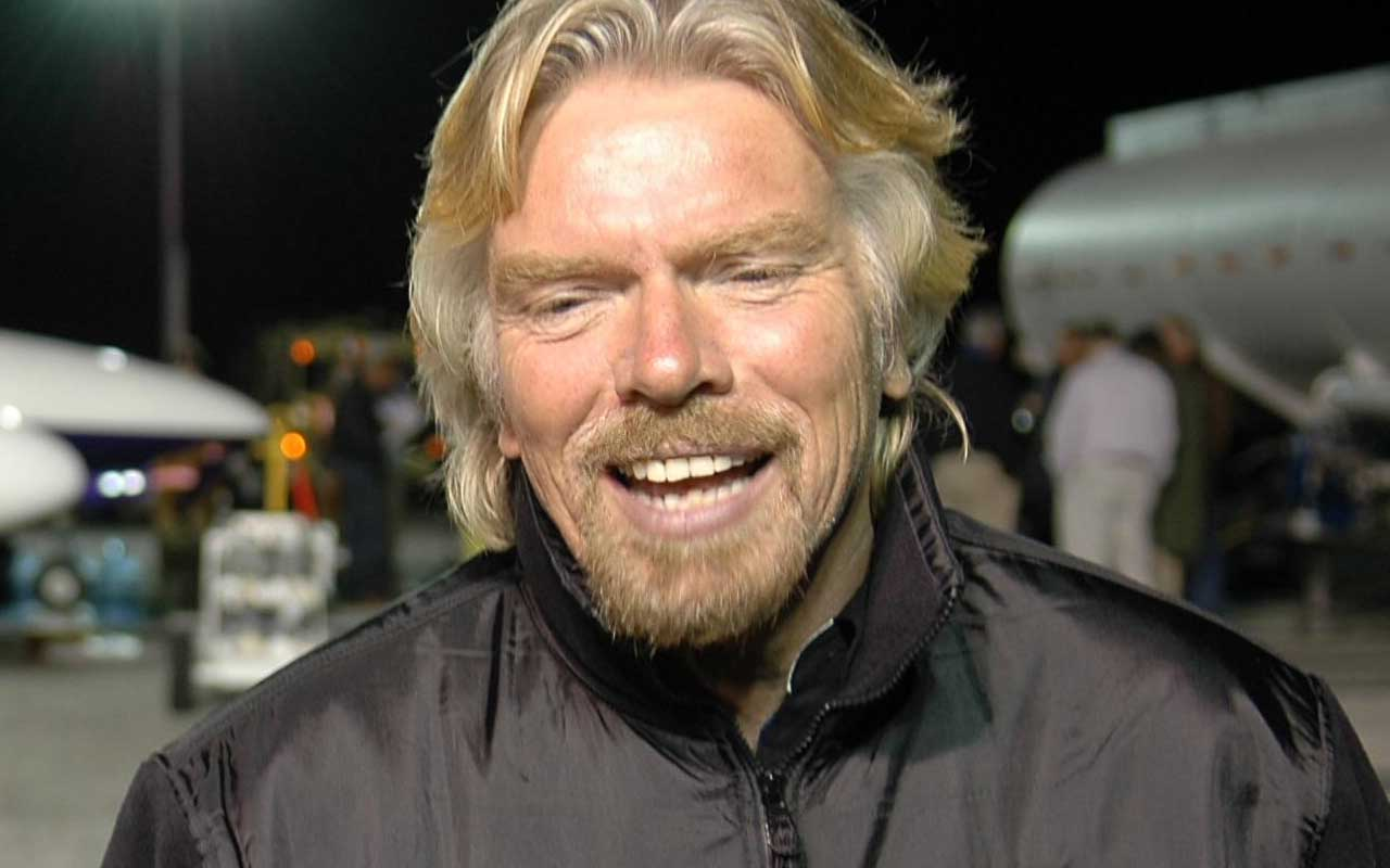 Richard Branson, Virgin Airlines, facts, airline, transportation, aerospace program, lifestyle