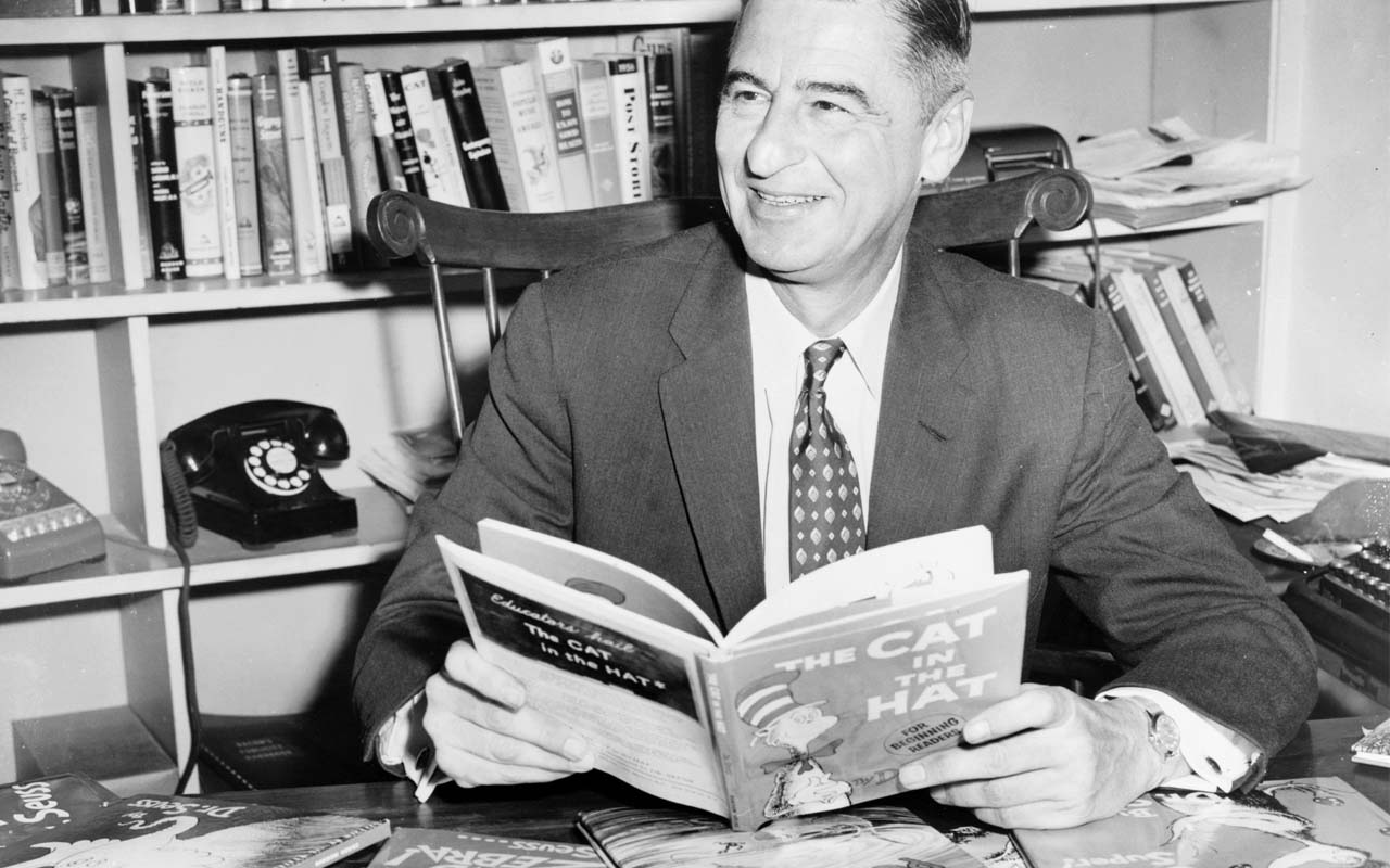 Dr Seuss, Green Eggs and Ham, books, story, facts, history