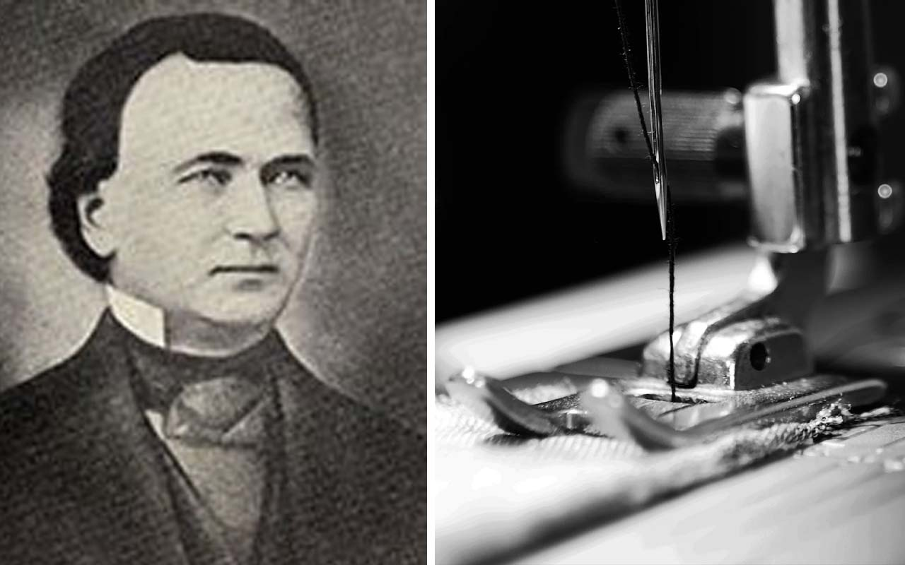 Walter Hunt, sewing machine, inventor, facts, history, life
