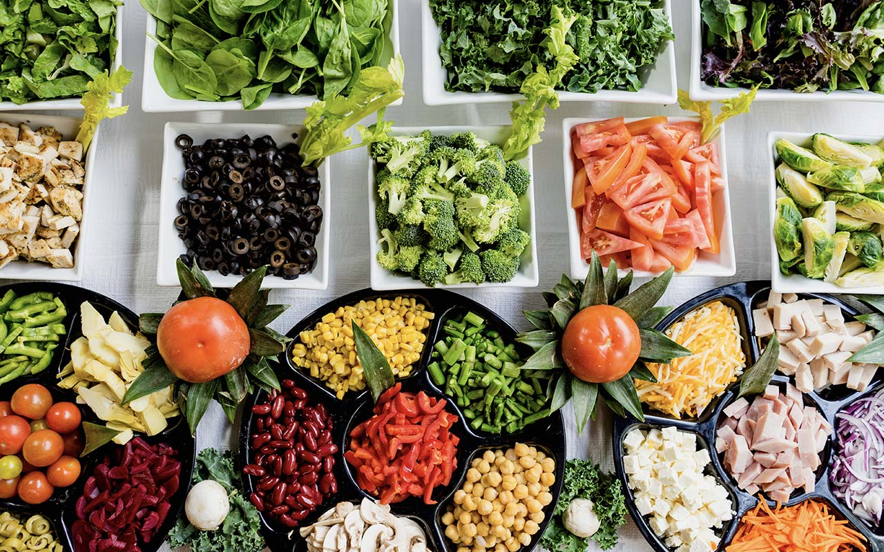 food safety, experts, life, people, food, salad bar, fresh, unhealthy, entertainment