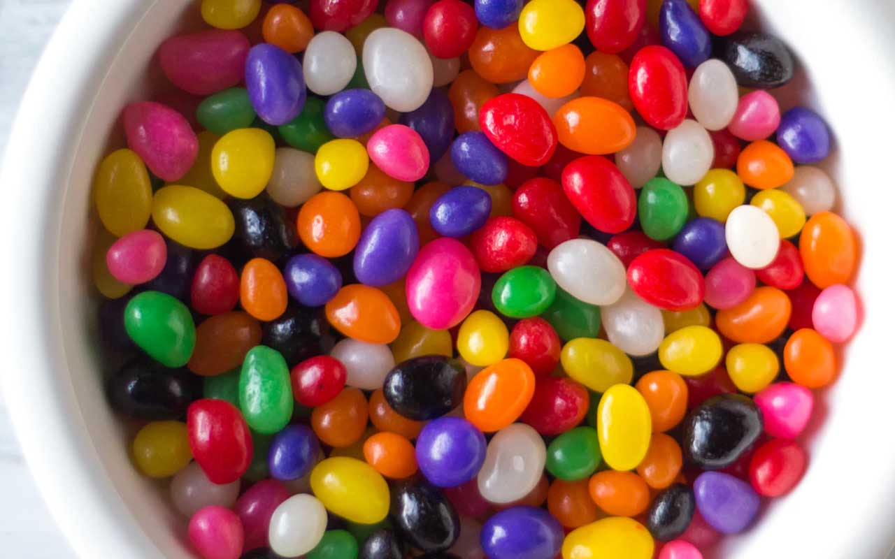 jellybean, production, time, fact, interesting, candy