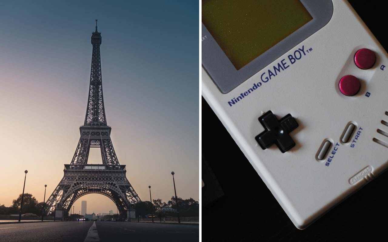 Eiffel Tower, Paris, France, Gameboy, Nintendo, founded, history, facts