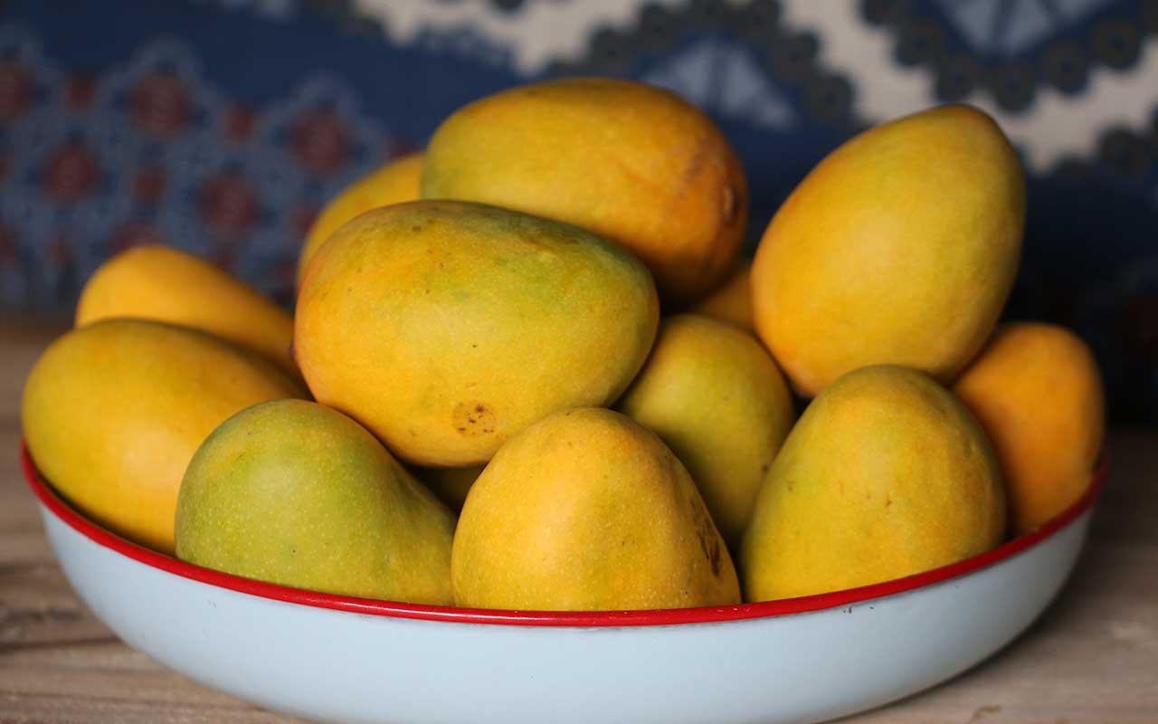 mango, food, fruit, production, people