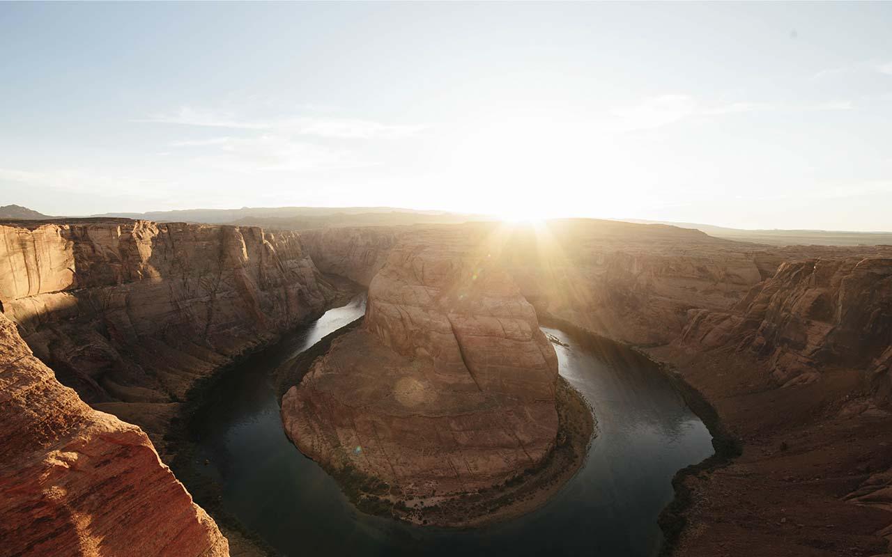 Grand Canyon, Arizona, Horseshoe bend, canyon, desert, life, United States