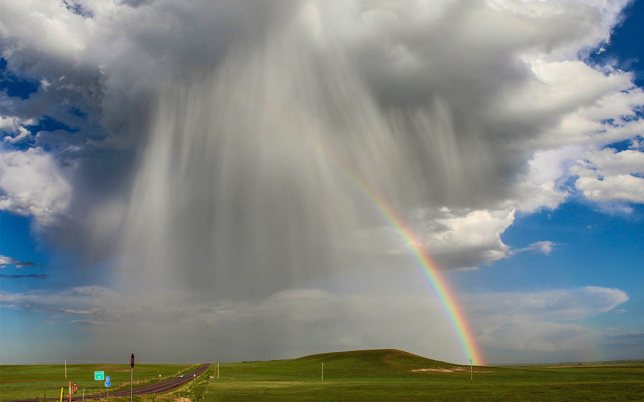 clouds, rain, facts, life, people, science, rainbow