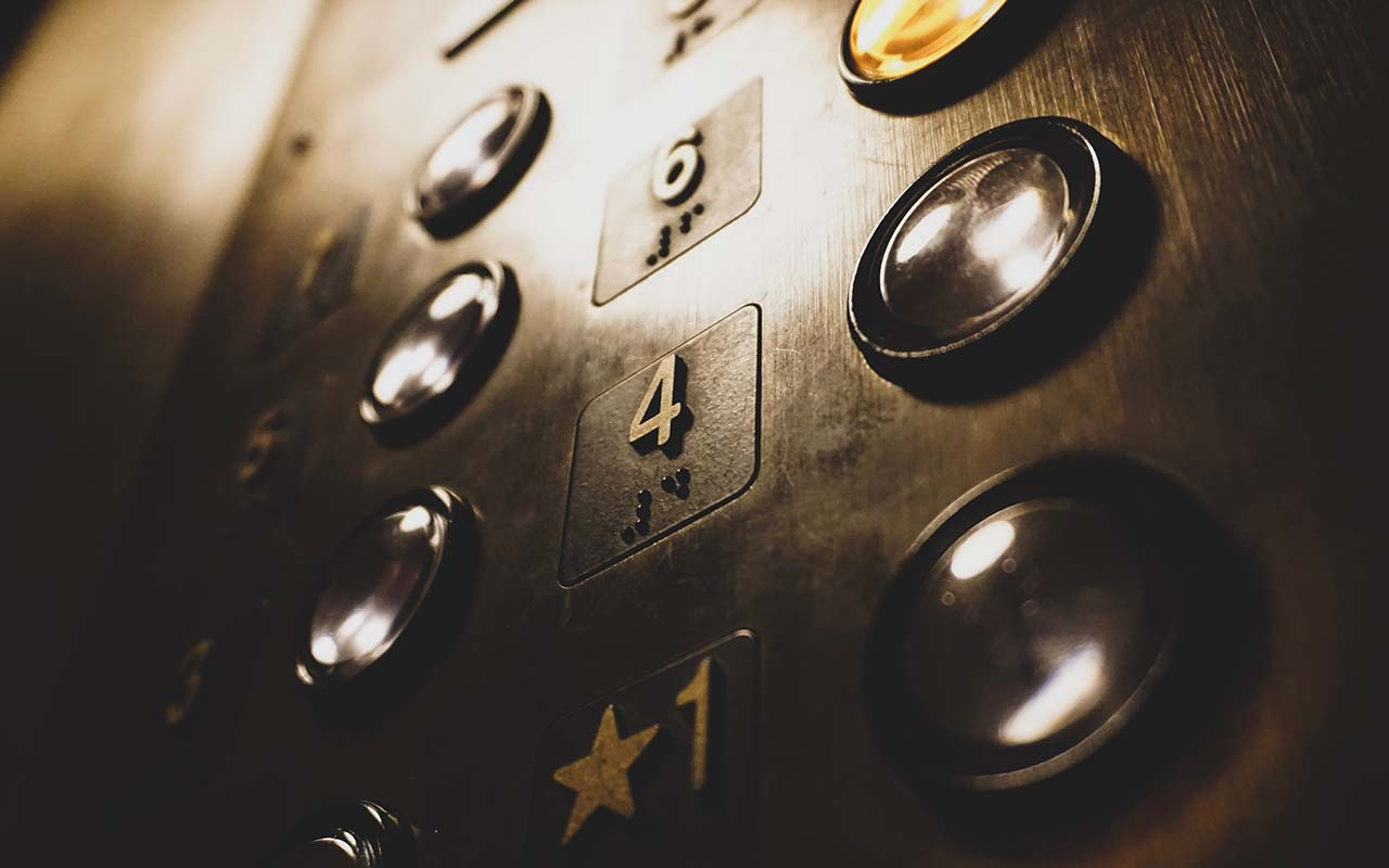 elevator, stainless steel, facts, science, life, people, weird